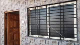 Aluminium pvc window design and wooden main doors