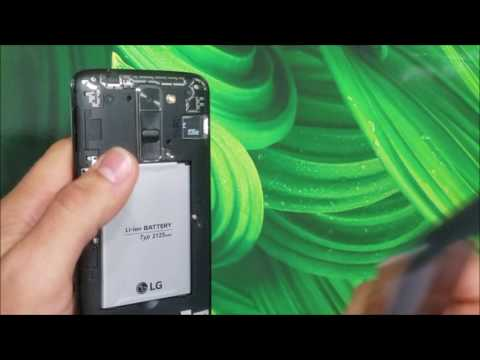How to install SD and SIM card into LG K7