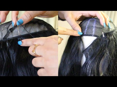U Part Wig Tutorial - How To Sew/Fold Over Method