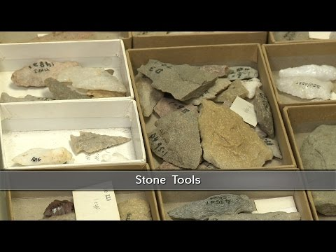 Stone Tools used by Virginia's First People