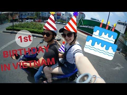 VIETNAMESE STYLE FIRST BIRTHDAY    FAMILY VLOG #3