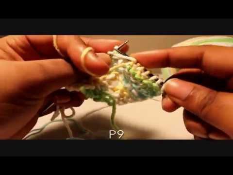 How to Knit a Bikini Top