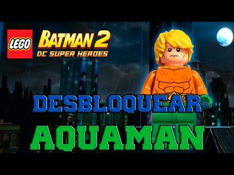 LEGO Batman 2: DC Super Heroes - Desbloqueando Personajes - Parte 33