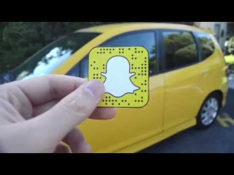 Snapchat QR Code Stickers