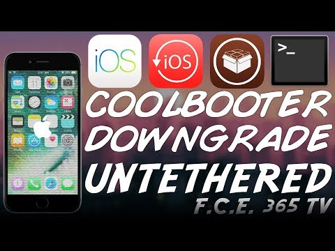 How To Downgrade / Dual-Boot UNTETHERED Your iPhone with CoolBooter (NO SHSH)