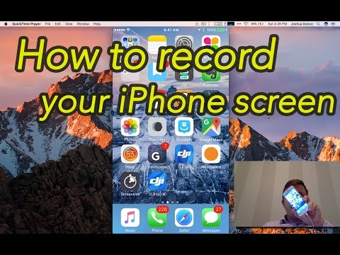 How to record your iPhone screen using Quicktime