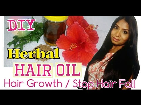 DIY- Herbal hair oil for Grow Hair Longer & Faster |Hair Growth Oil | Prevent Hair Fall & Dandruff