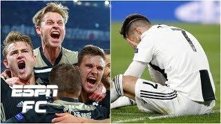 'A tremendous beatdown': How Ajax sent Cristiano Ronaldo & Juventus crashing out   Champions League
