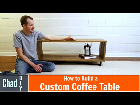 DIY Custom Coffee Table Build