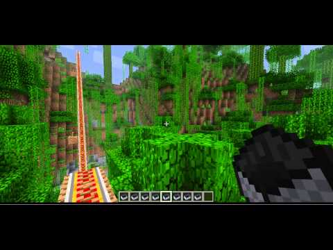 The longest rail journey in the history of minecraft