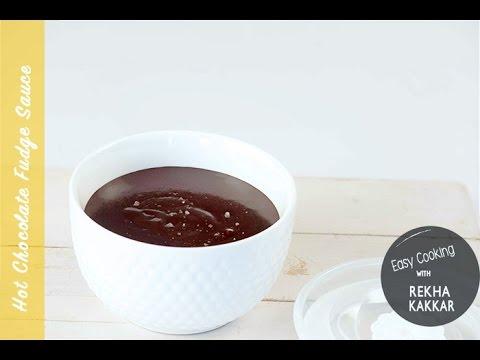 Chocolate Fudge Sauce   How to Make Chocolate sauce