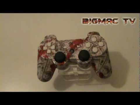Blood money PS3 custom controller. BM Contollers, BIGmac TV