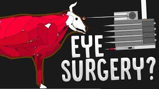 I Accidentally Became An Eye Surgeon & All I Wanted Was A Hamburger - Algodoo