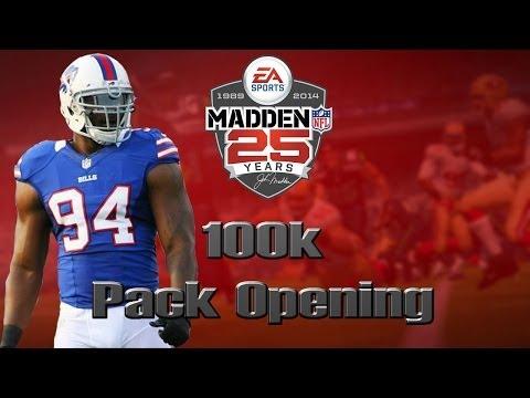 Madden 25 Ultimate Team | 100k Pack Opening