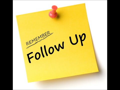 How to Follow Up After An Interview. When to Follow Up After An Interview.
