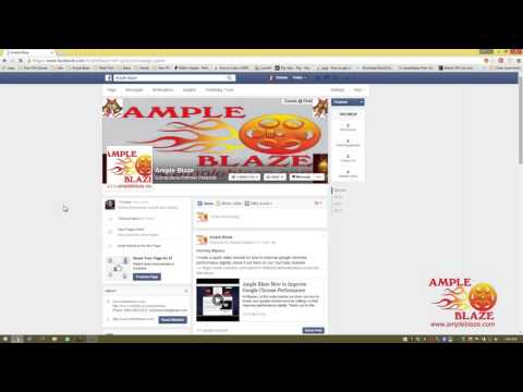 Ample Blaze How to Disable Facebook Notifications via Google Chrome