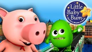 London Bridge Is Falling Down   Nursery Rhymes   by LittleBabyBum!   ABCs and 123s