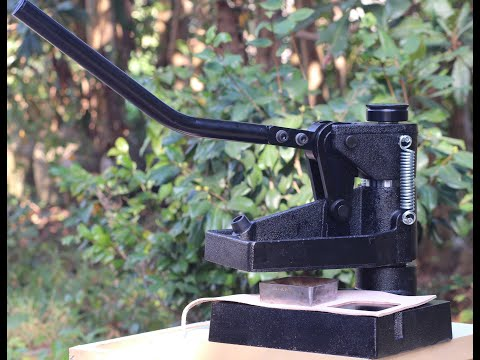 CowBoy 8360 Hand Operated Manual Clicker Press