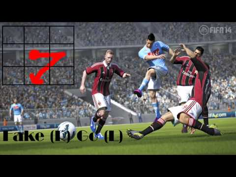 FIFA 14 Skills Tutorial Android - (ALL SKILLS - Without Rabona)