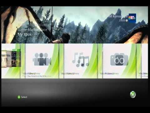 Skyrim Xbox 360 Theme