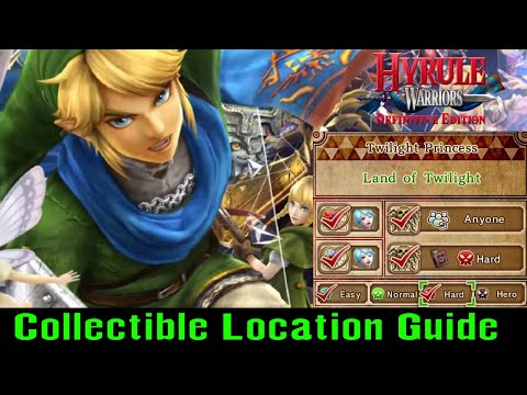 Land of Twilight Collectible Guide (Hyrule Warriors Switch 2018)