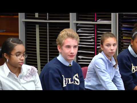 Middle School Panel:  My child is shy in class.  Would they get lost here?