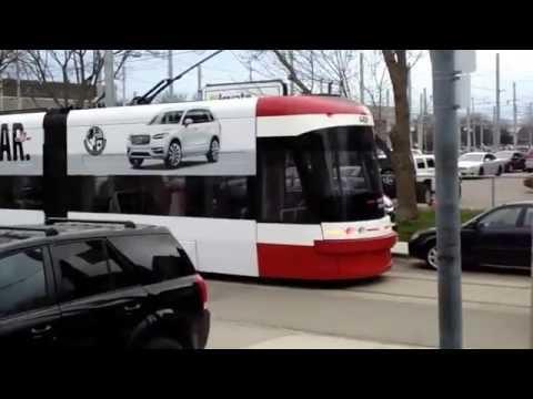 100 Feet Long New Toronto Streetcars