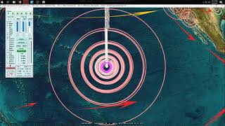 """5/05/2018 -- Pacific """"Large Earthquake"""" threat present -- Increase in Volcanism - BE PREPARED"""