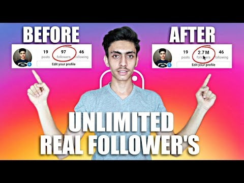 Free Instagram Followers - How To Get Real Followers On Instagram - Real Followers 2017
