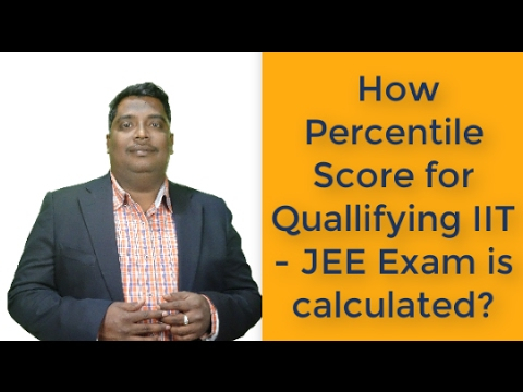 How Percentile Score for Quallifying IIT - JEE Exam is calculated?