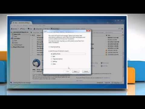 How to Import Outlook 2013 Contacts to Mozilla® Thunderbird