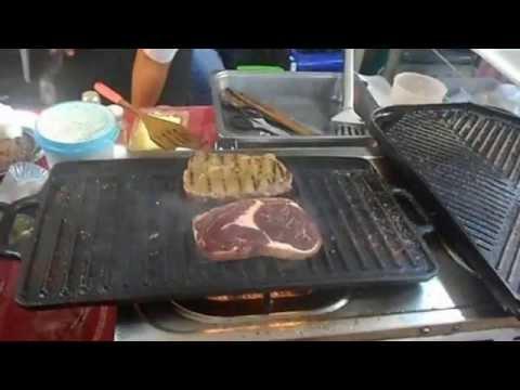 Rib-Eye Steak: Medium-Well Done