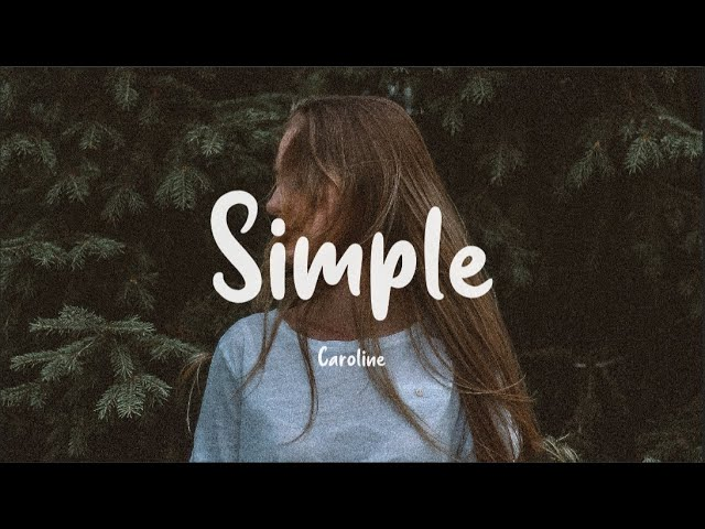 Simple - CAROLINE