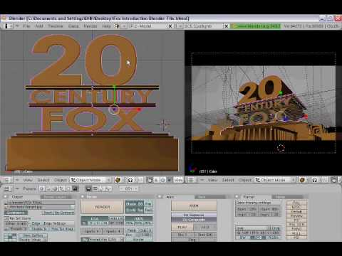 How to Make a 20th Century Fox Intro with Blender