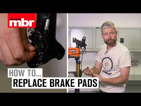 How To Replace Brake Pads | Mountain Bike Rider