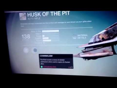 I got the husk of the pit how to get it