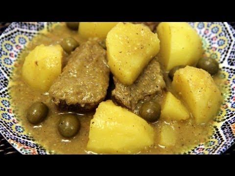 Moroccan Beef Tajine with Potatoes Recipe - CookingWithAlia - Episode 201