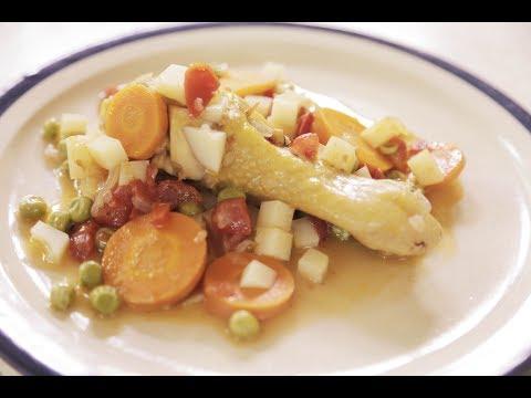 Chicken stew with vegetables