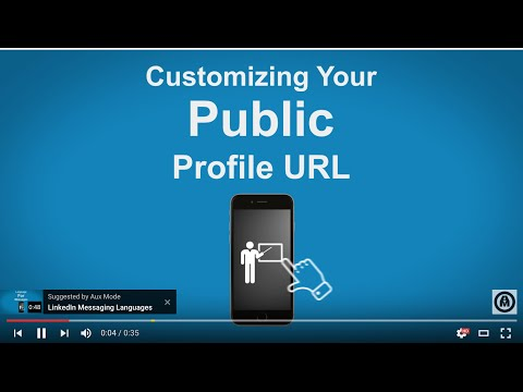 How To Get a LinkedIn Customized URL