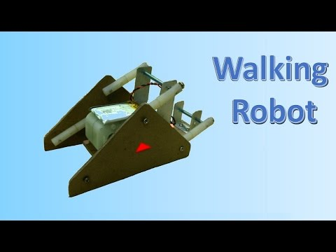 How to make a Robot which can walk on irregular surface