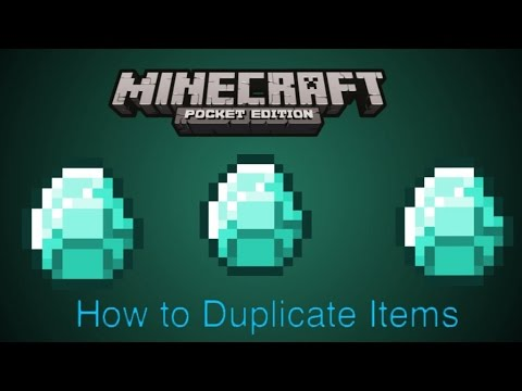 How To get Unlimited Items In Minecraft Pe 0.9.5