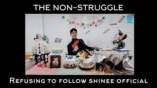 SHINee Minho Creating Instagram on Birthday VLIVE (ft. 6 struggles \u0026 1 non-struggle)
