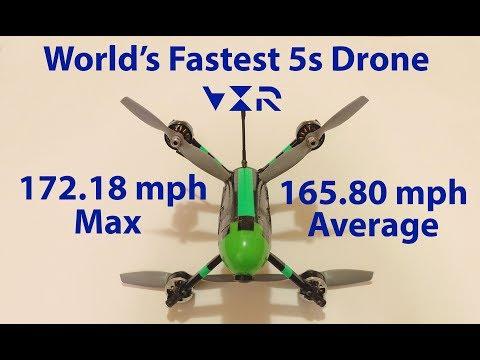 Raw 165.8 mph average speed run video