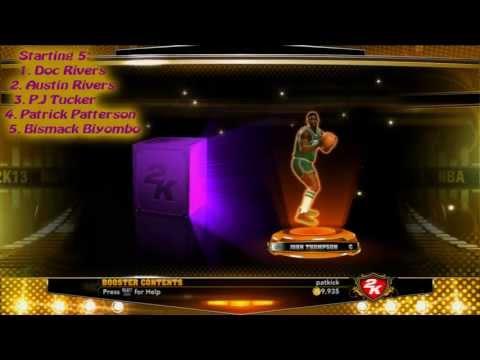 NBA 2K13 25k pack opening My Team #1