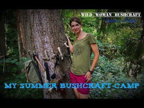My Bushcraft - Summer- Basecamp-Project - Wild Woman Bushcraft DIY - Vanessa Blank