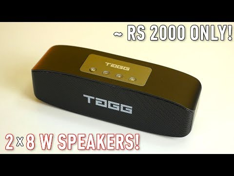 TAGG Loop Bluetooth speaker Review! Better than Xiaomi Bluetooth Speaker?