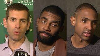 Celtics react to comeback win against Mavericks [Brad Stevens, Kyrie Irving, Al Horford] | ESPN
