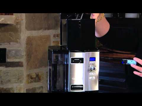 Cuisinart Coffee on Demand™ 12-Cup Programmable Coffeemaker (DCC-3000) Demo Video