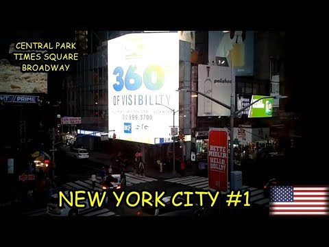 NEW YORK CITY #1: CENTRAL PARK // TIMES SQUARE // BROADWAY // SUBWAY (METRÔ)
