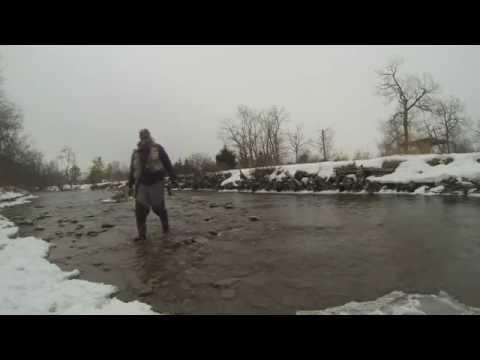 Winter Steelhead Fly Fishing in Ontario